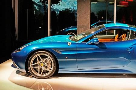 Ferrari California T Unveiling Show