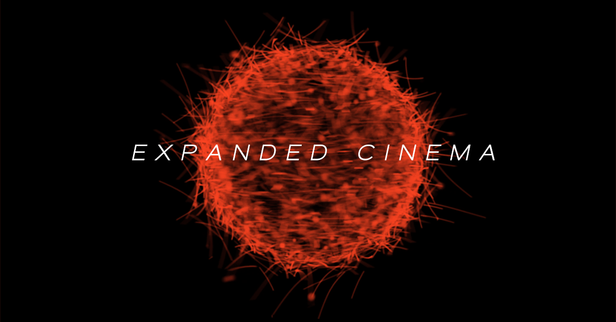 expanded cinema Expanded cinema artscilab 2001 2 blank page artscilab 2001 gene youngblood became a passenger of spaceship earth on may 30, 1942 he is a faculty member of the california institute of the arts, school of critical studies.